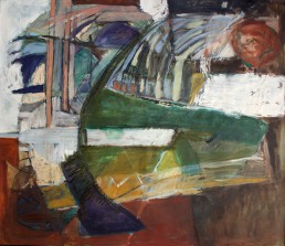 olieverf op linnen, 140x120, 1987