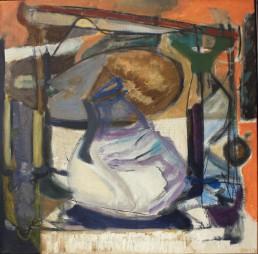 Alexandra Verkerk, olieverf op linnen 1990