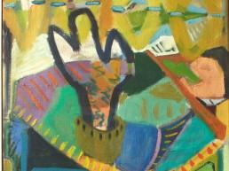 Alexandra Verkerk, olieverf op linnen, 80x60