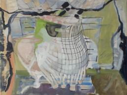 Alexandra Verkerk, olieverf op linnen, 60x60