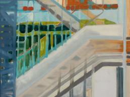 Alexandra Verkerk, olieverf op linnen,100x80