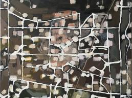 schilderij oil field 1- 2018
