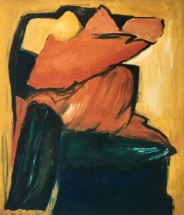 schilderij Alexandra Verkerk, schilderij Alexandra Verkerk, olieverf op linnen, 1986 op linnen, 1986