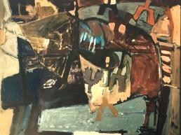 Alexandra Verkerk, Schilderij, 120x100, Olieverf op linnen