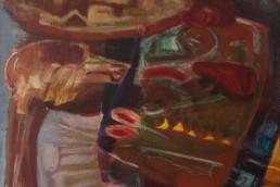 Alexandra Verkerk, 60x60, olieverf op linnen
