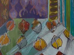 Alexandra Verkerk, olieverf op linnen, 120x120