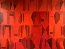 Alexandra Verkerk, olieverf op linnen, 180x160