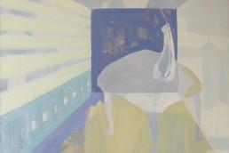 Alexandra Verkerk, olieverf op linnen, 100x100
