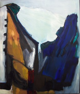 acrylic on linen, 1986