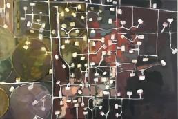 oilfield 3 olieverf op linnen