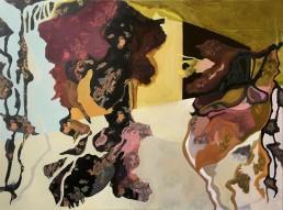 Alexandra Verkerk. Olieverf op linnen, 120x100, 2020, Outside in 4