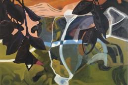 schilderij Alexandra Verkerk, olie op linnen 2020